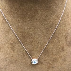 14kt rose gold necklace